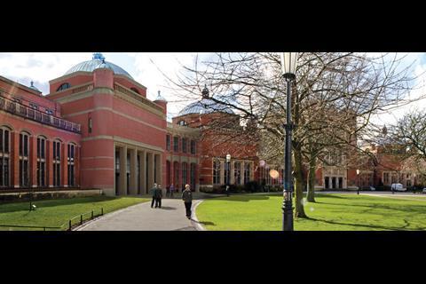 Bramall music building at Birmingham University, by Glenn Howells Architects